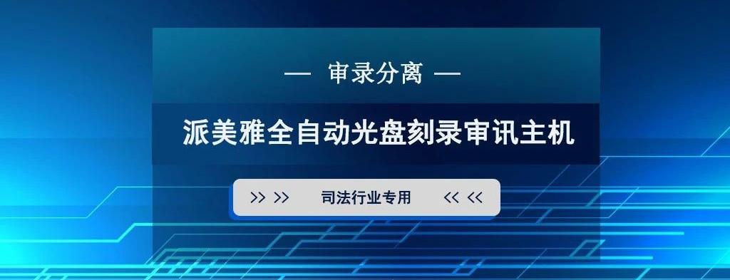 派美雅全自动亚博下载地址刻录审讯主机解决方案